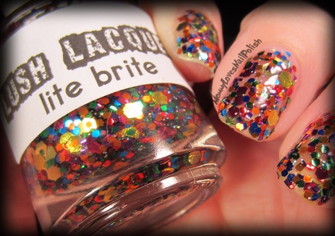 """Lite Brite"" no base color"