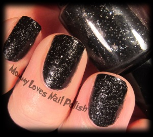 Matte Tar Sands - Texture Nail Polish.  Two coats.