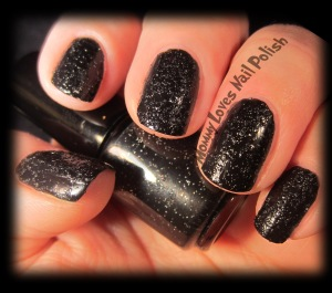 Matte Tar Sands - Texture Polish.  Two coats.